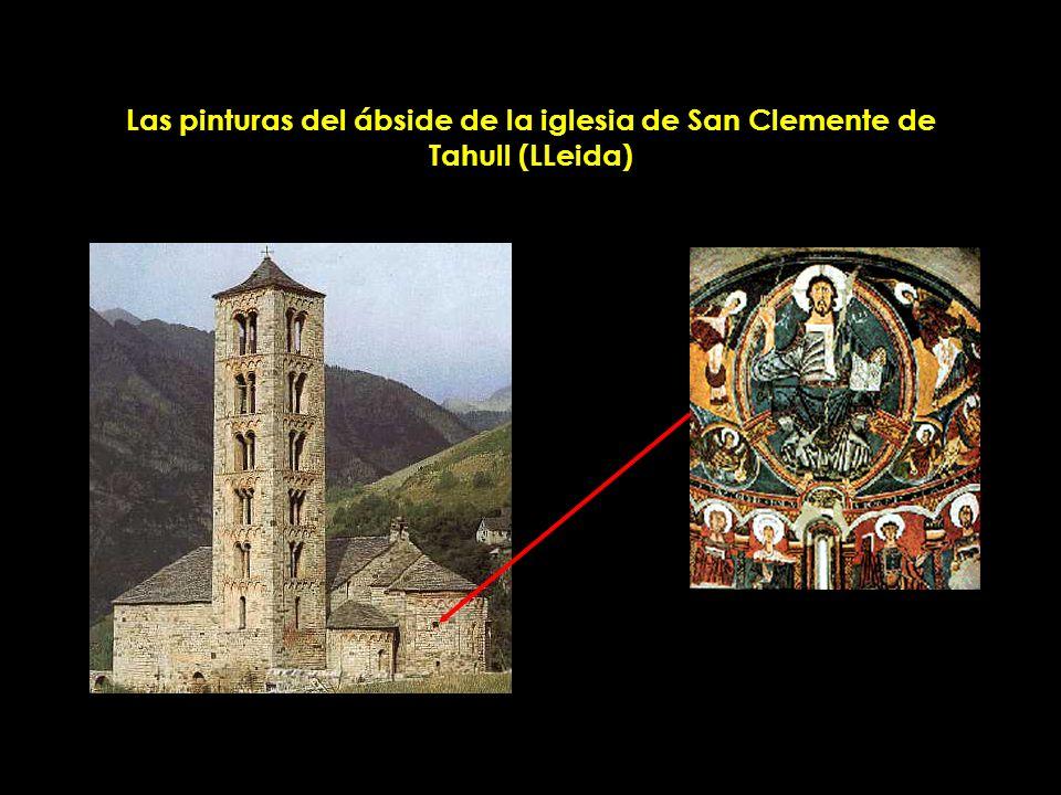 Las pinturas del ábside de la iglesia de San Clemente de Tahull (LLeida)