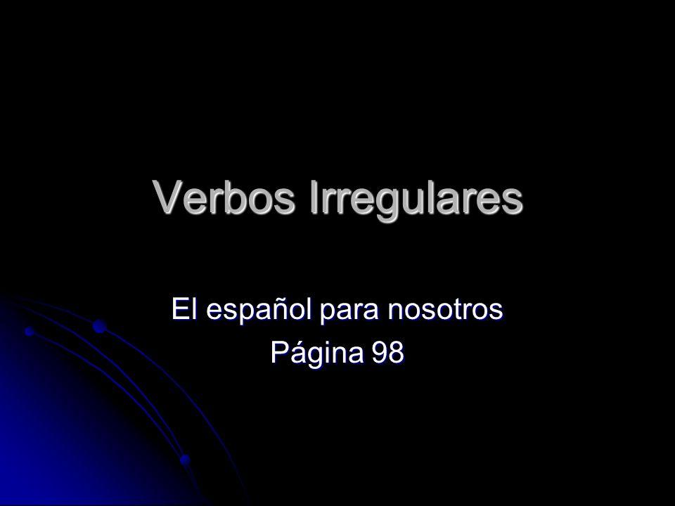 El español para nosotros Página 98