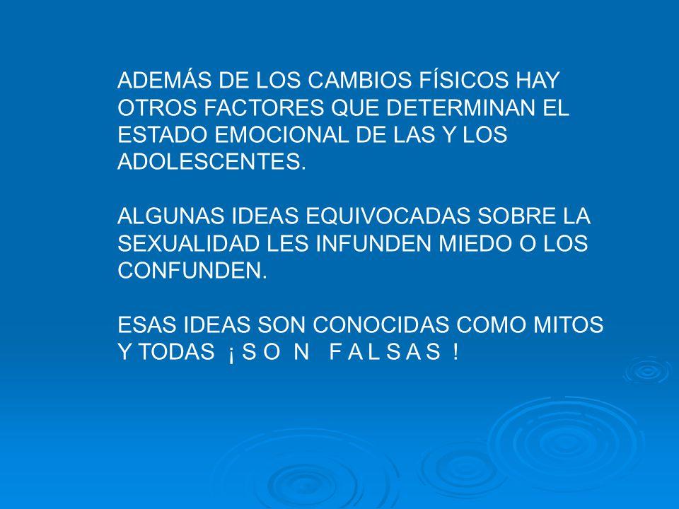TODO ESTOS CAMBIOS SON NORMALES Y LES SECEDEN A TODAS Y TODOS LOS ADOLESCENTES.