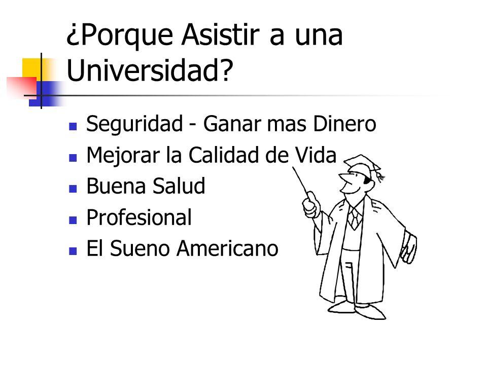 ¿Porque Asistir a una Universidad