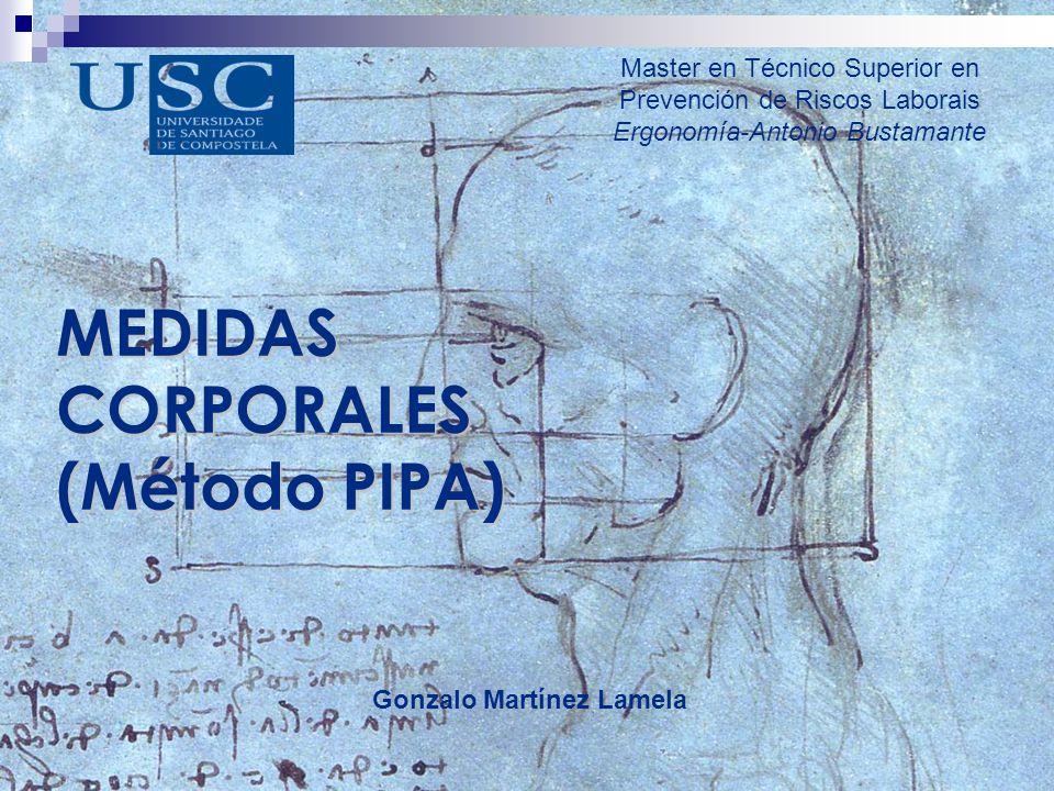 MEDIDAS CORPORALES (Método PIPA)