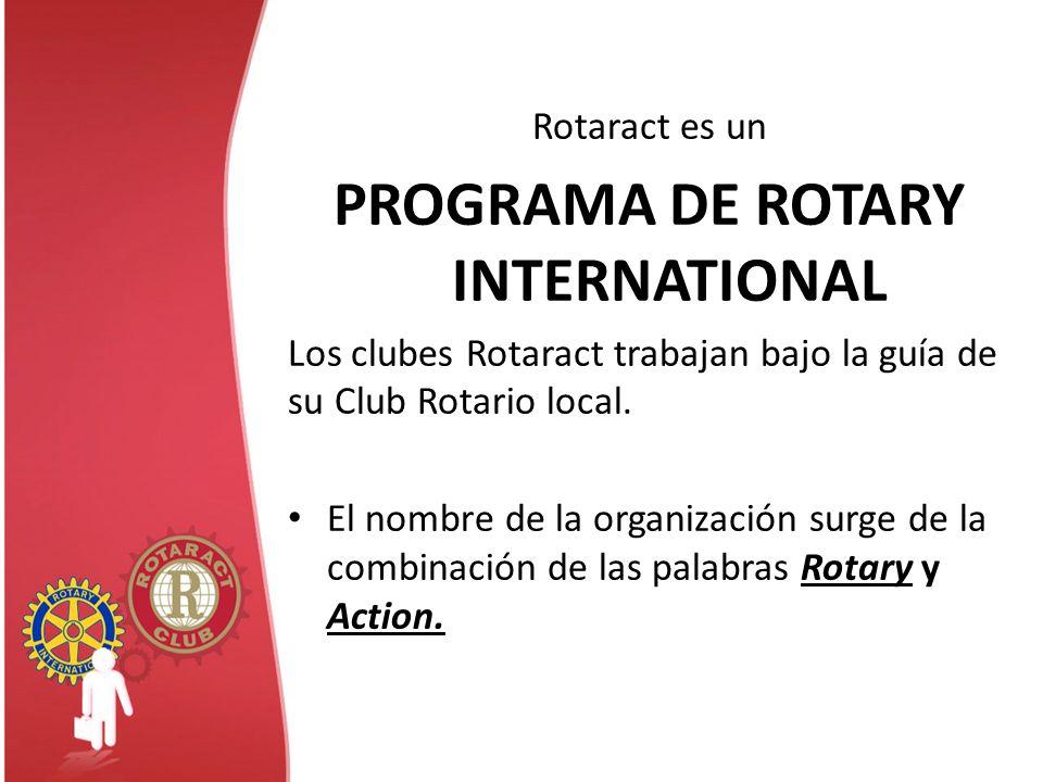 PROGRAMA DE ROTARY INTERNATIONAL