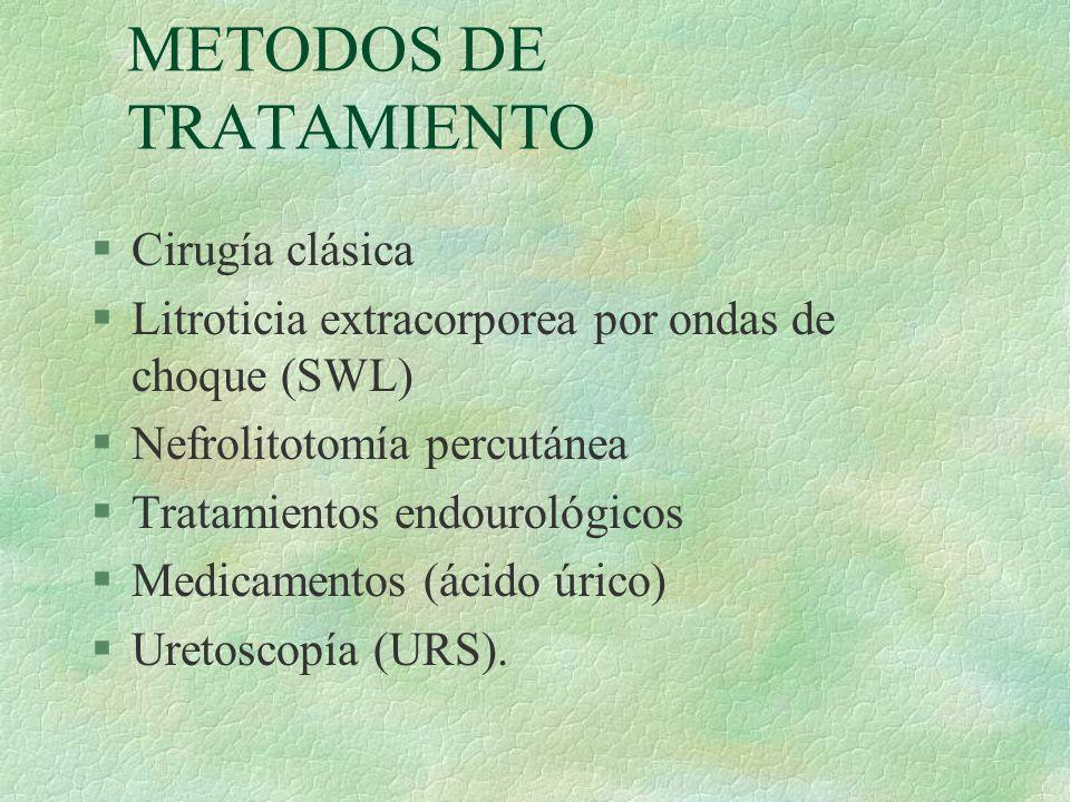 METODOS DE TRATAMIENTO