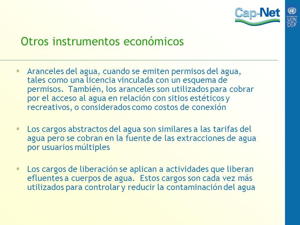 Otros instrumentos económicos