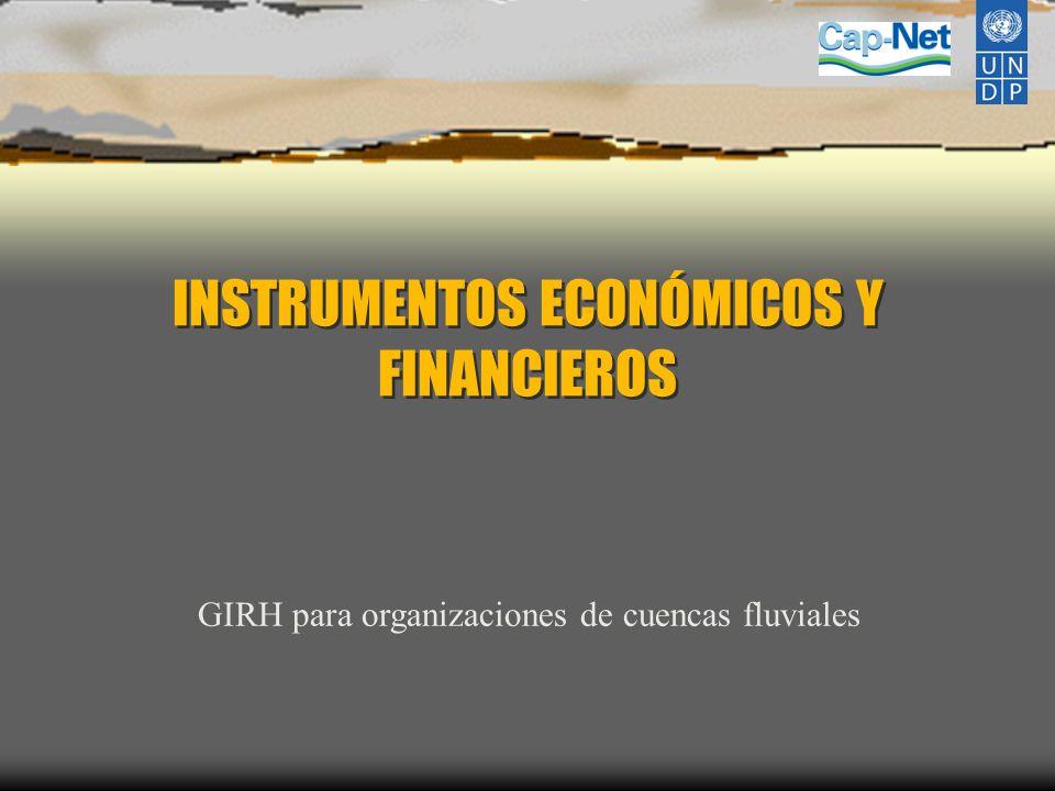 INSTRUMENTOS ECONÓMICOS Y FINANCIEROS