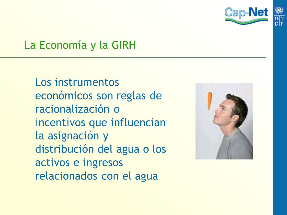La Economía y la GIRH
