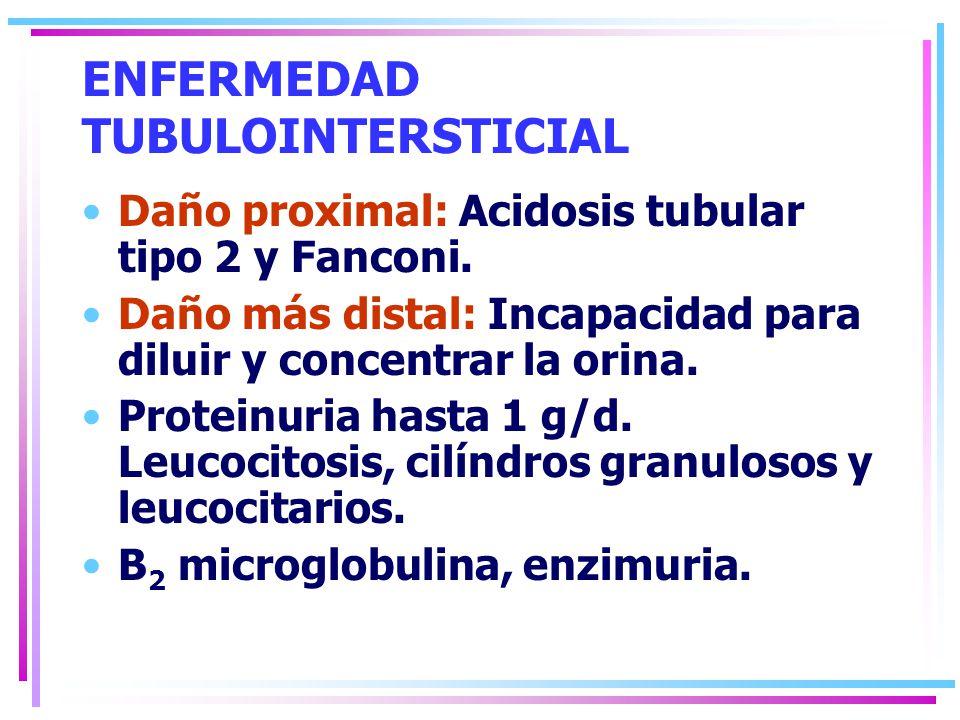 ENFERMEDAD TUBULOINTERSTICIAL