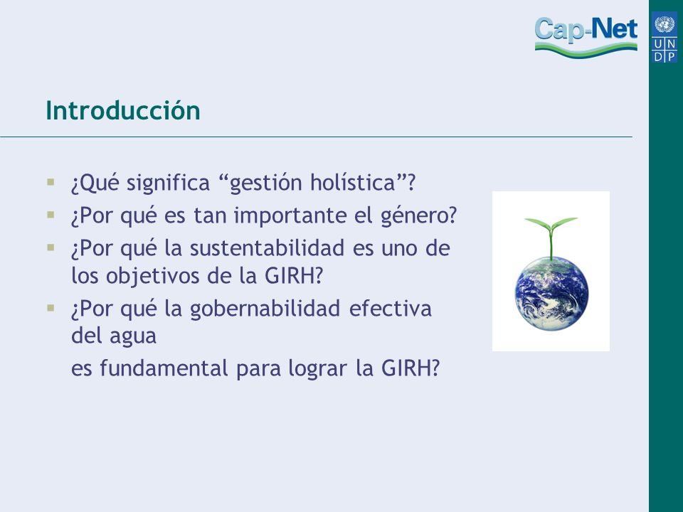 Introducción ¿Qué significa gestión holística