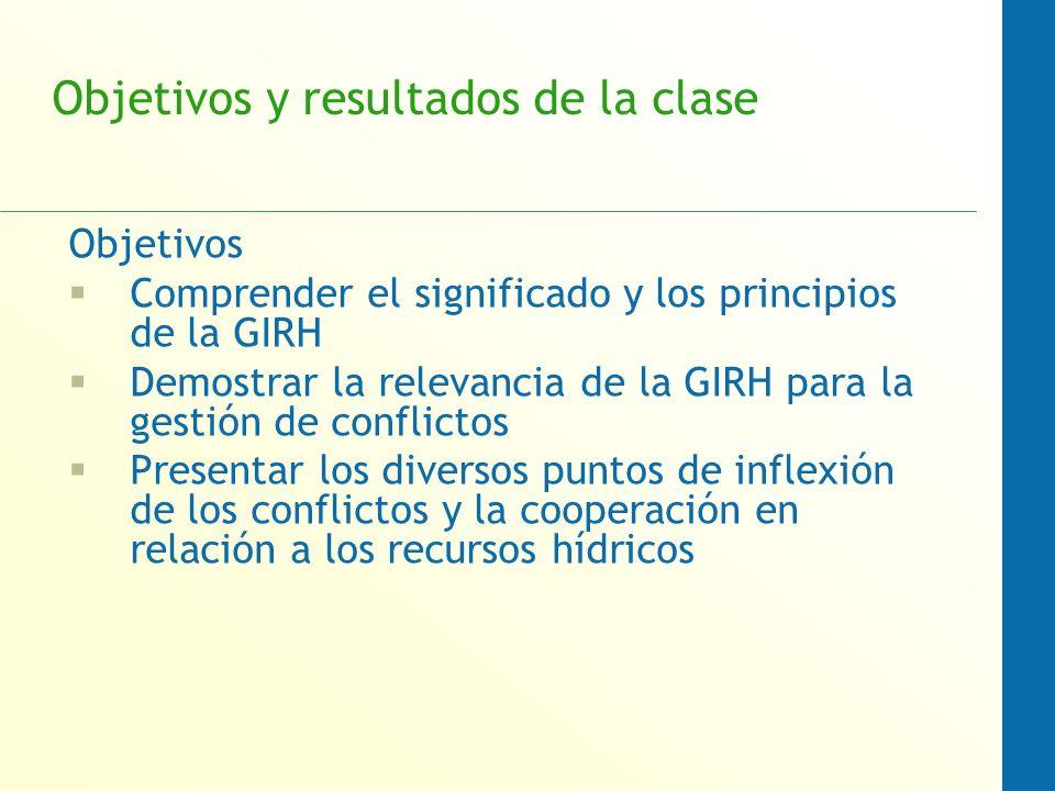 Objetivos y resultados de la clase