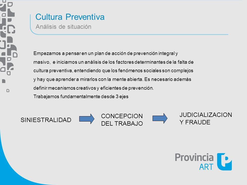 Cultura Preventiva Análisis de situación JUDICIALIZACION CONCEPCION