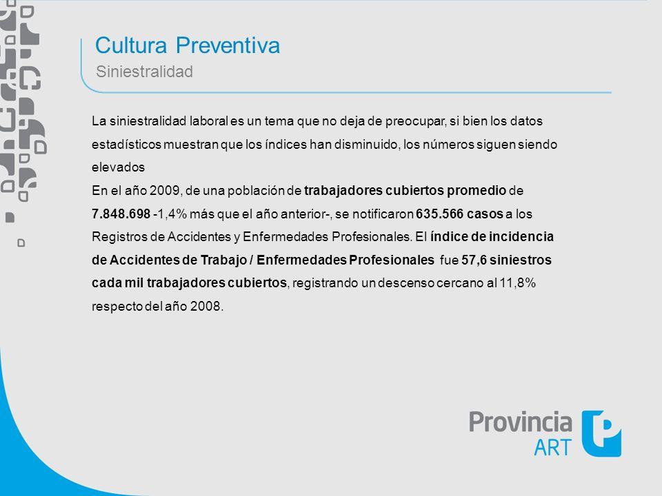 Cultura Preventiva Siniestralidad