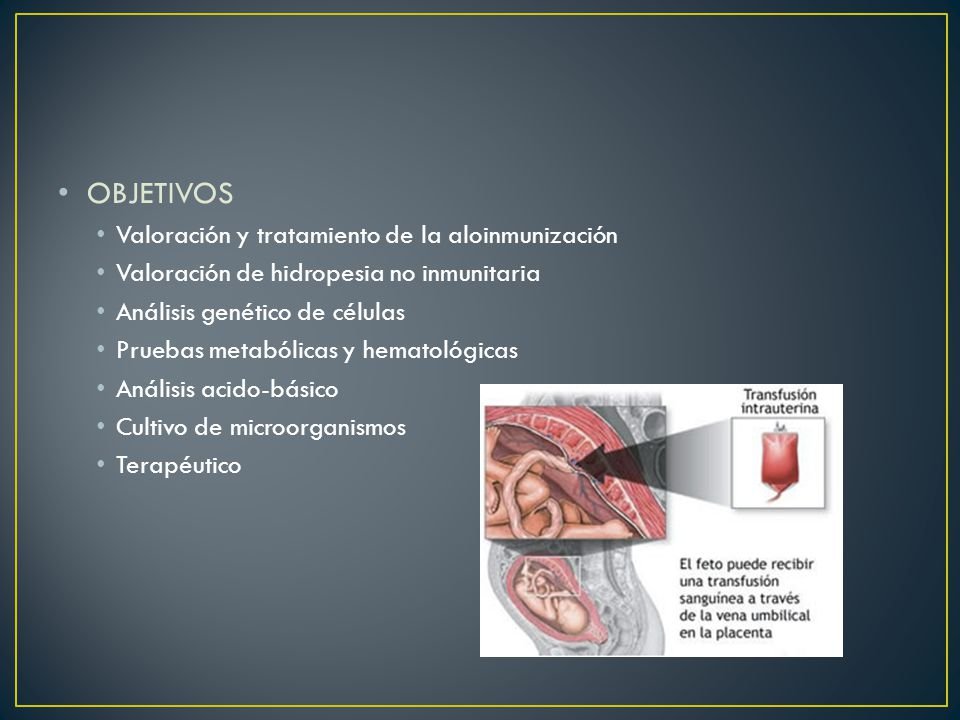 OBJETIVOS Valoración y tratamiento de la aloinmunización