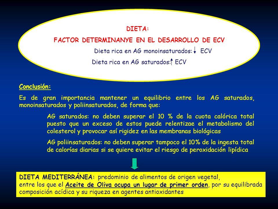 FACTOR DETERMINANYE EN EL DESARROLLO DE ECV