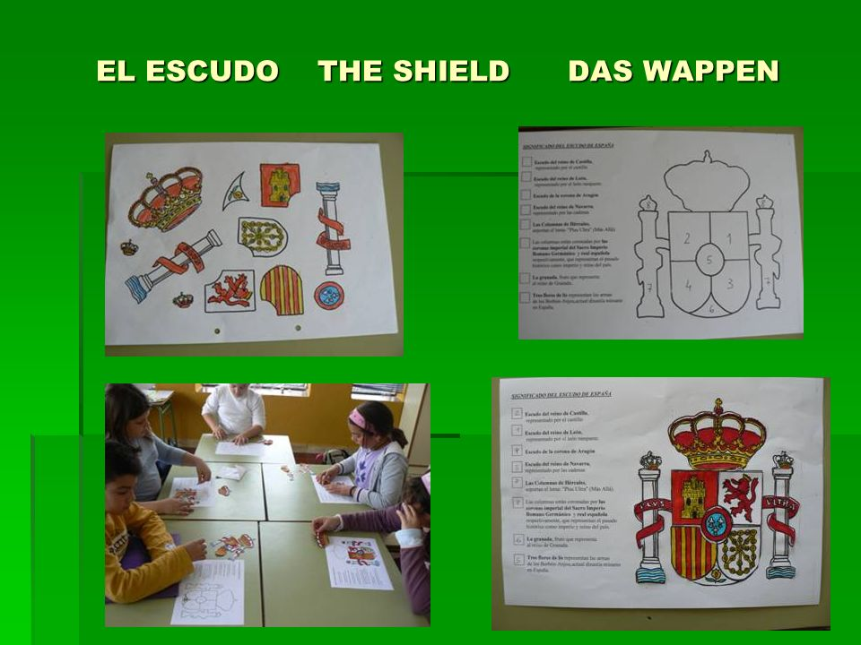 EL ESCUDO THE SHIELD DAS WAPPEN