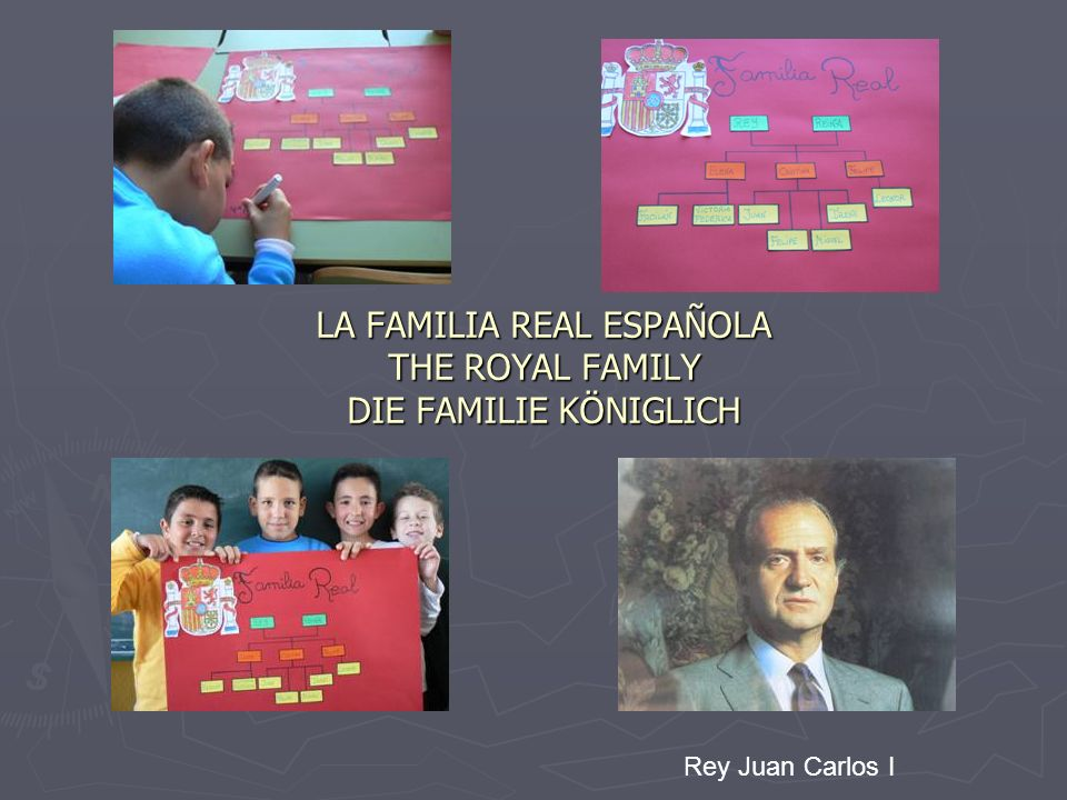 LA FAMILIA REAL ESPAÑOLA THE ROYAL FAMILY DIE FAMILIE KÖNIGLICH