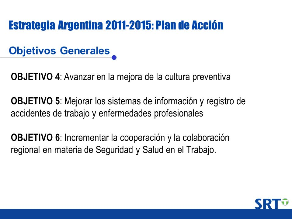 Estrategia Argentina 2011-2015: Plan de Acción