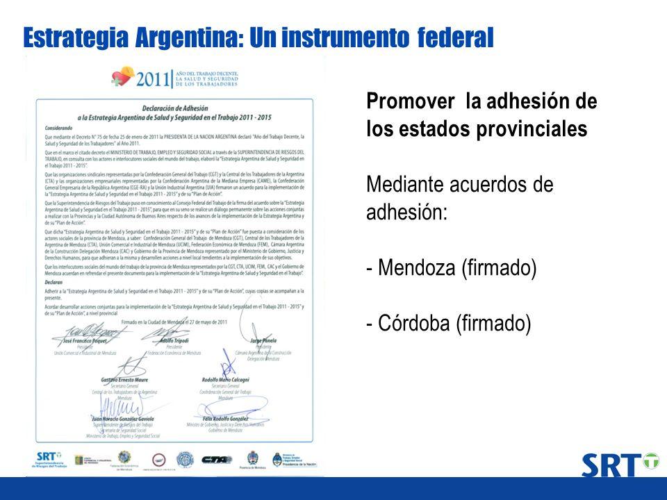 Estrategia Argentina: Un instrumento federal
