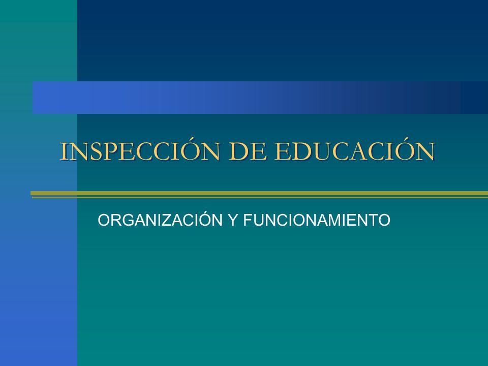 INSPECCIÓN DE EDUCACIÓN