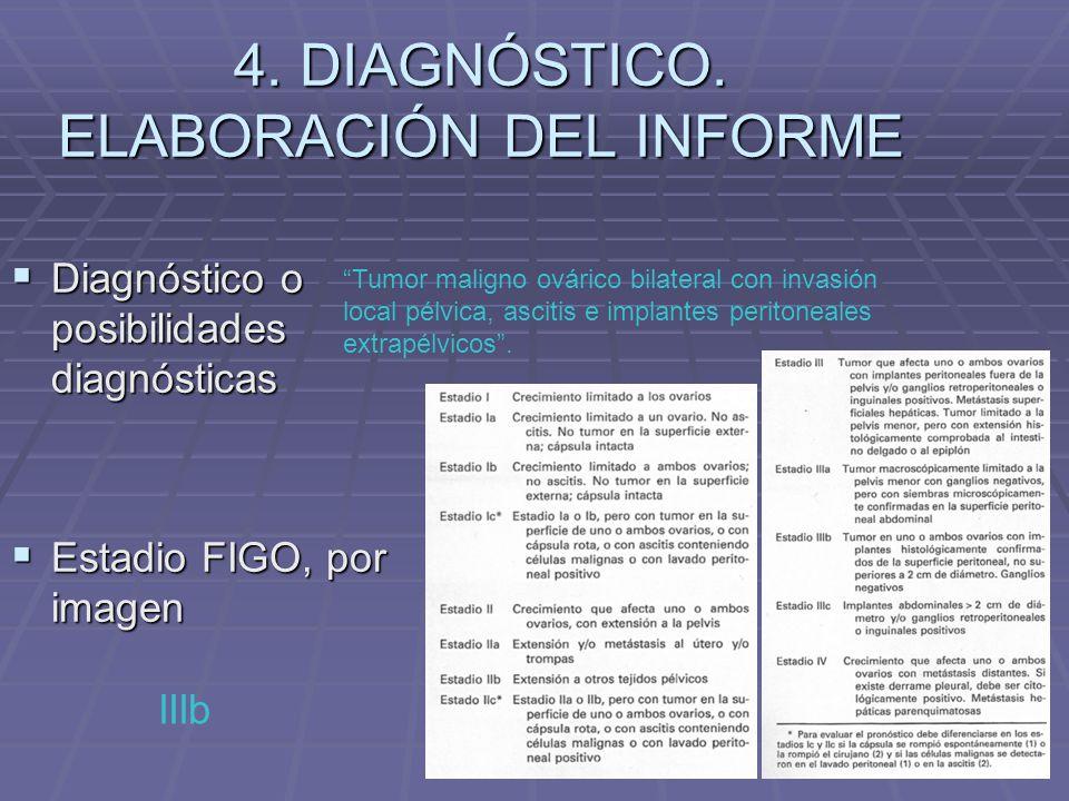 4. DIAGNÓSTICO. ELABORACIÓN DEL INFORME