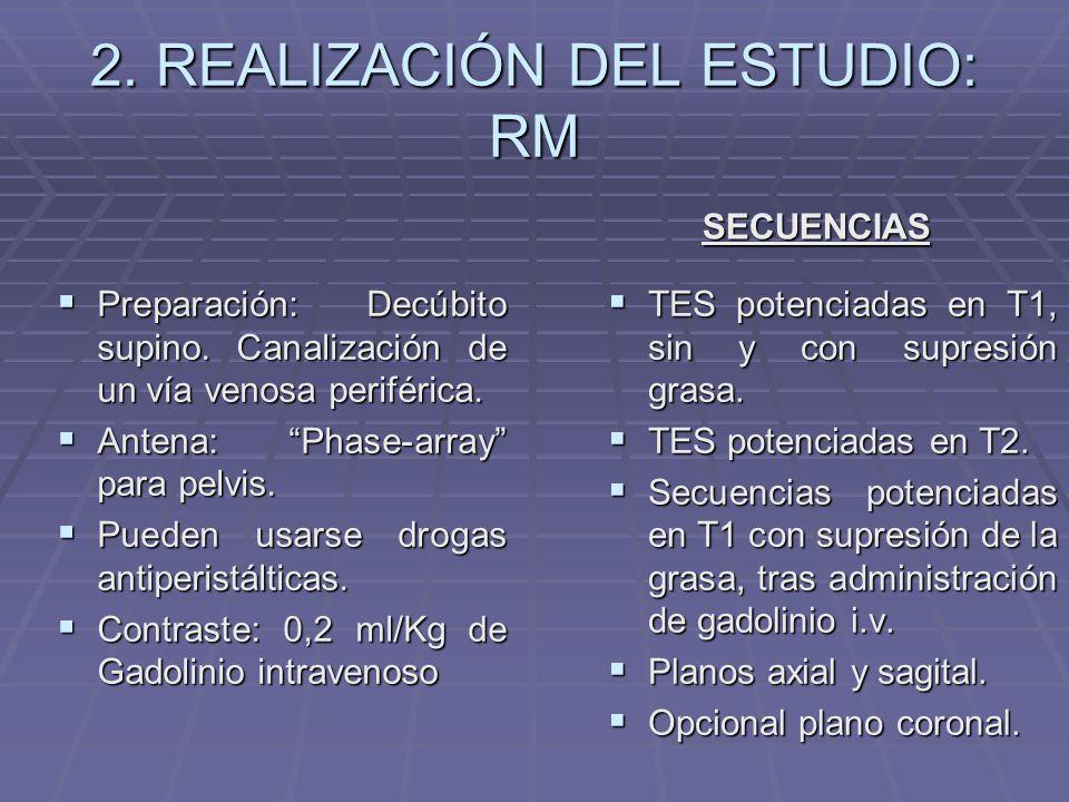 2. REALIZACIÓN DEL ESTUDIO: RM