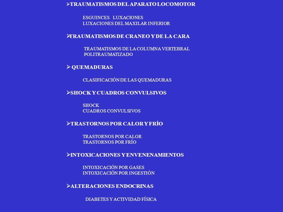 TRAUMATISMOS DE CRANEO Y DE LA CARA