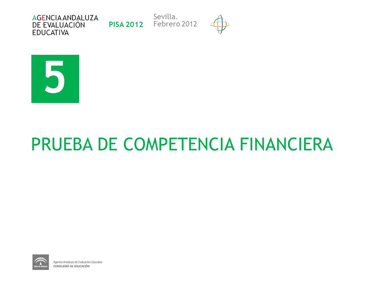 5 PRUEBA DE COMPETENCIA FINANCIERA Sevilla. AGENCIA ANDALUZA