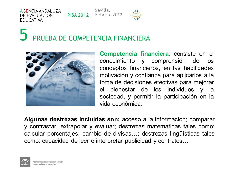 5 PRUEBA DE COMPETENCIA FINANCIERA