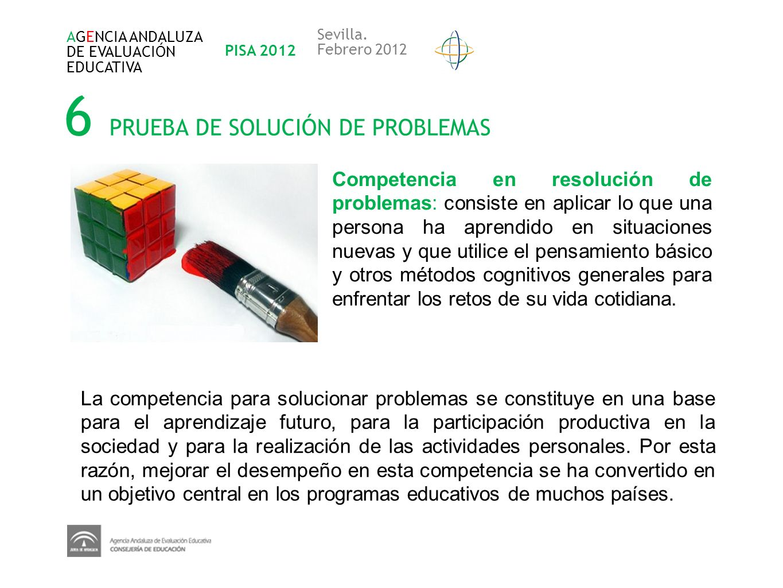 6 PRUEBA DE SOLUCIÓN DE PROBLEMAS