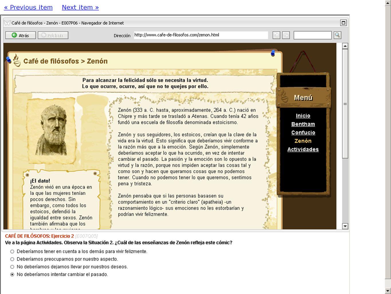 7 PISA - ERA Más ejemplos de preguntas URL: http://erasq.acer.edu.au/