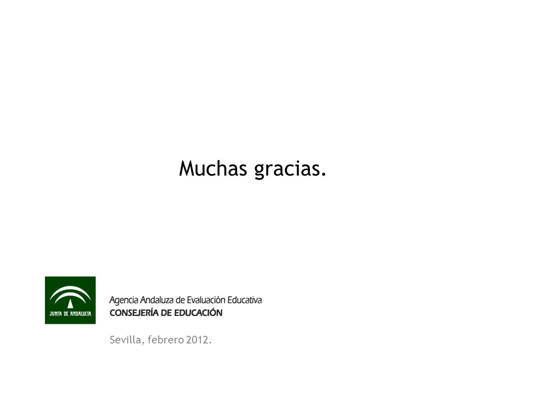 Muchas gracias. Sevilla, febrero 2012.