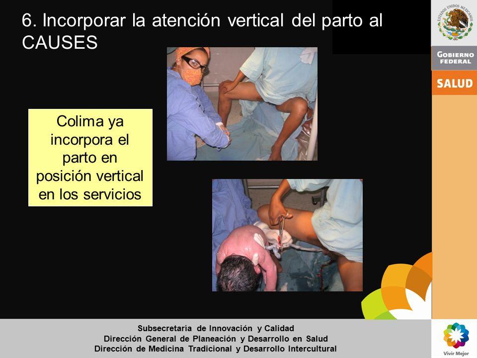 Colima ya incorpora el parto en posición vertical en los servicios