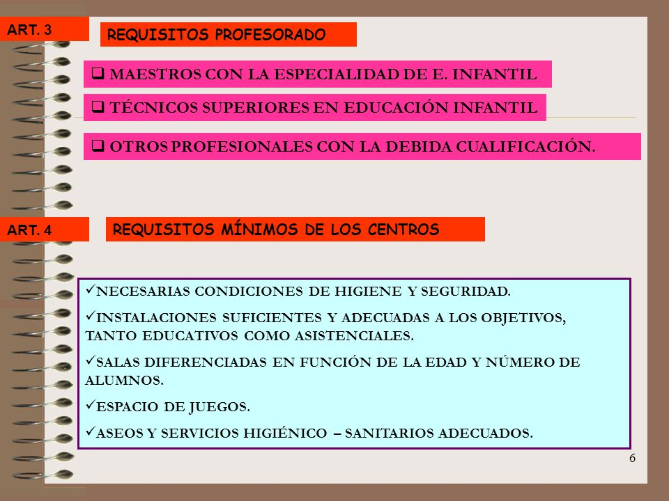 MAESTROS CON LA ESPECIALIDAD DE E. INFANTIL
