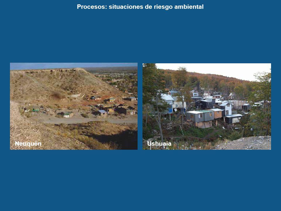Procesos: situaciones de riesgo ambiental