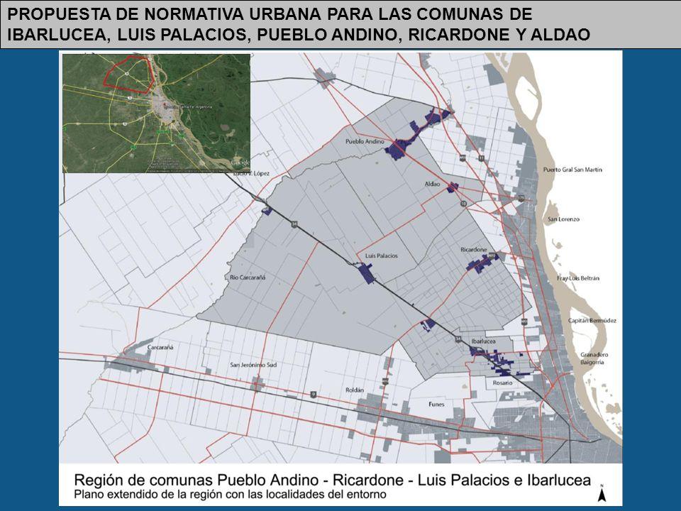Propuesta de Normativa Urbana para las Comunas de