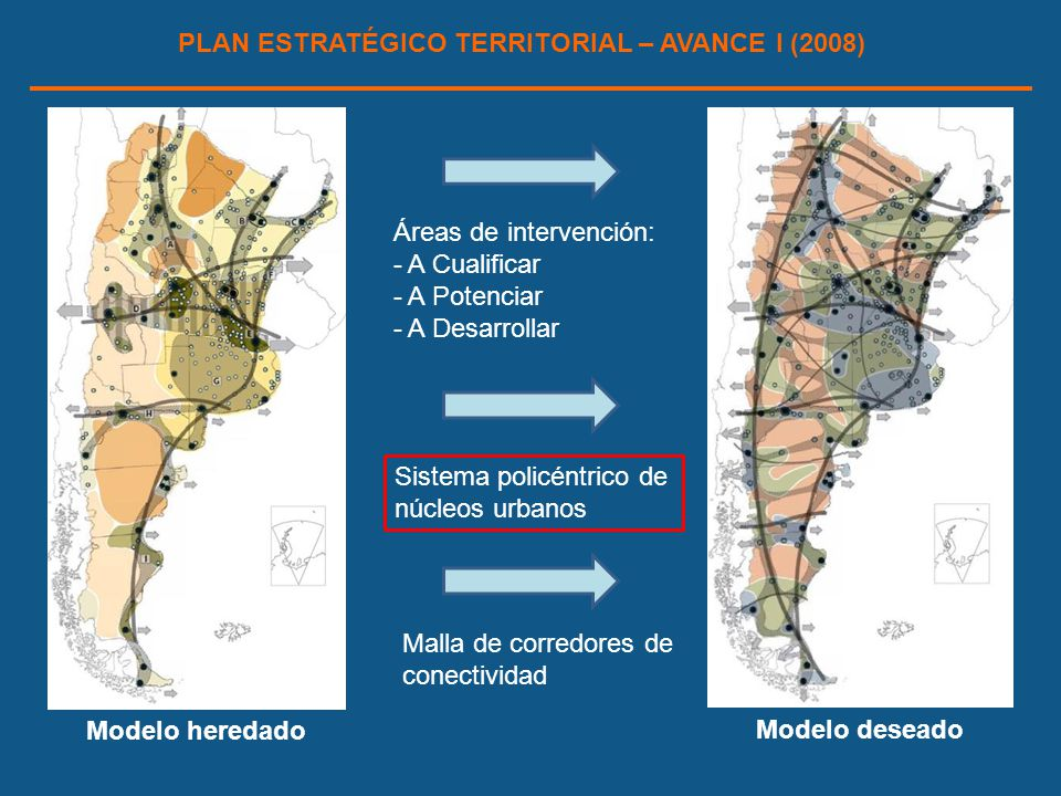 PLAN ESTRATÉGICO TERRITORIAL – AVANCE I (2008)
