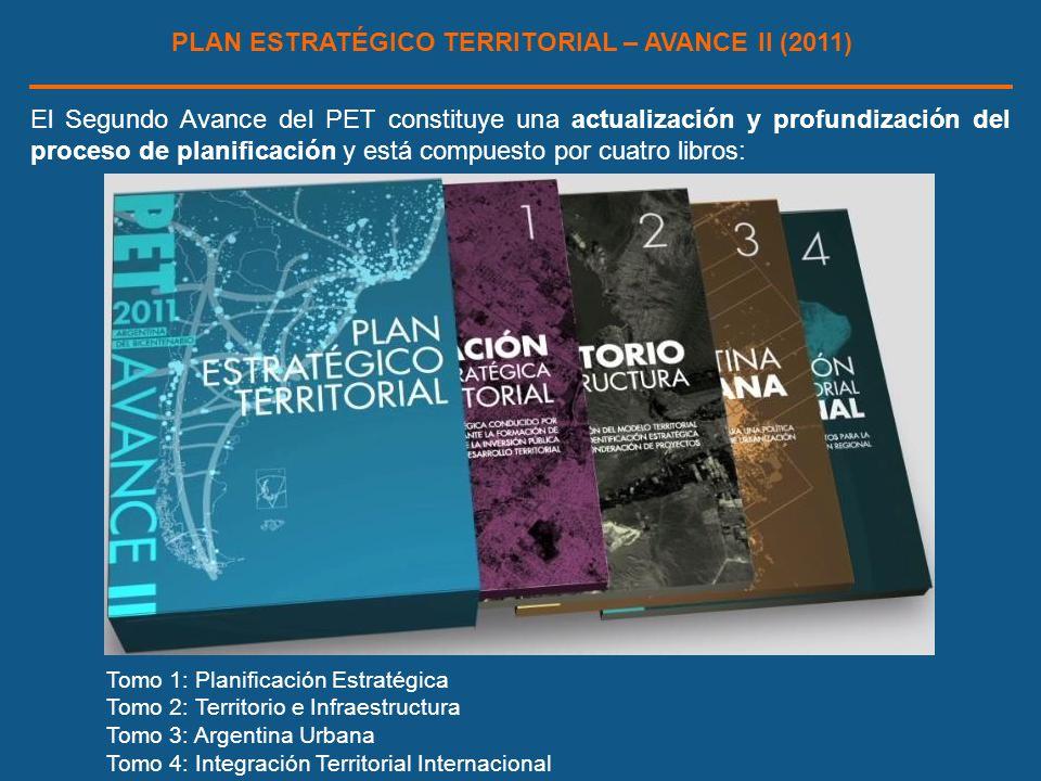 PLAN ESTRATÉGICO TERRITORIAL – AVANCE II (2011)