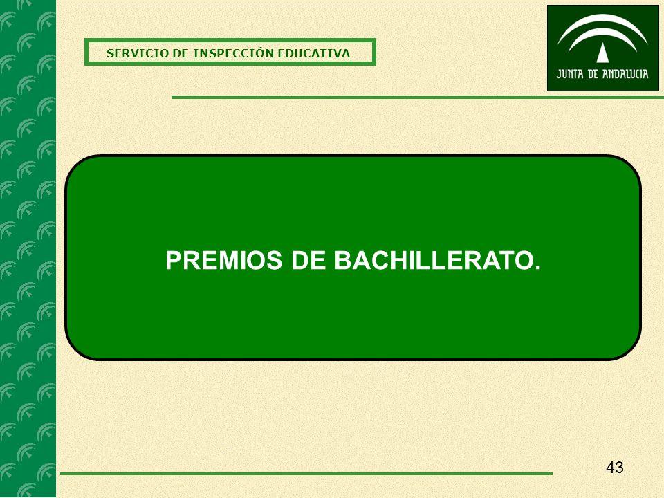 PREMIOS DE BACHILLERATO.