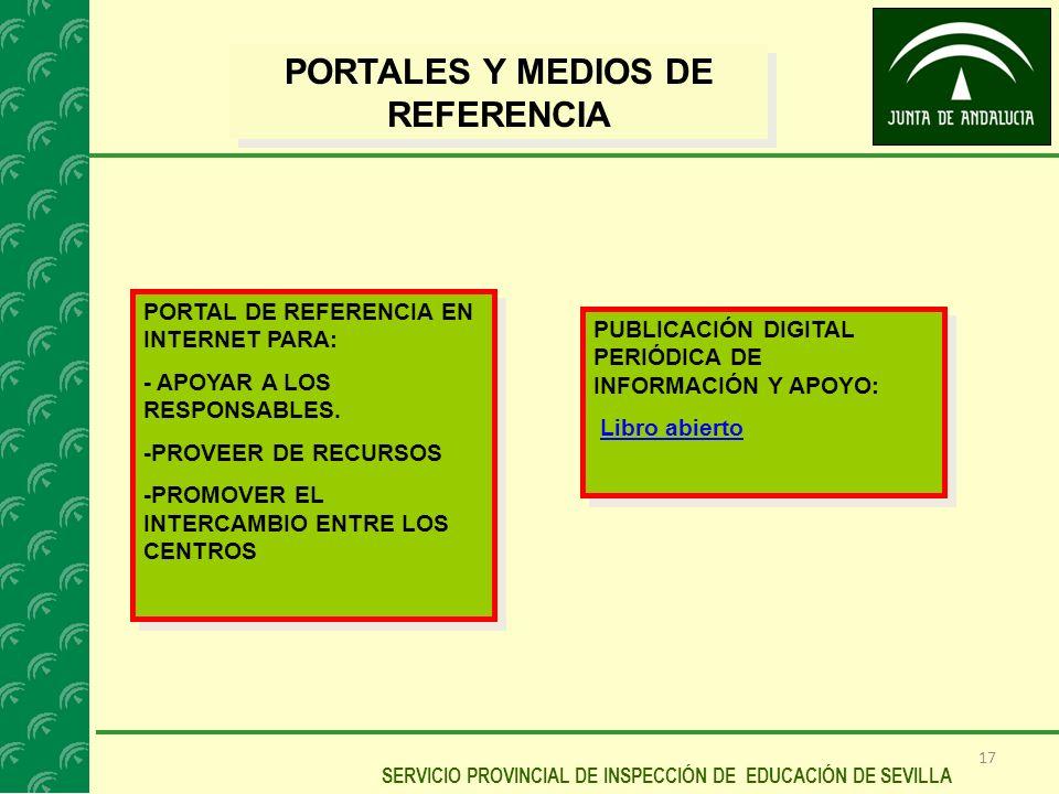 PORTALES Y MEDIOS DE REFERENCIA