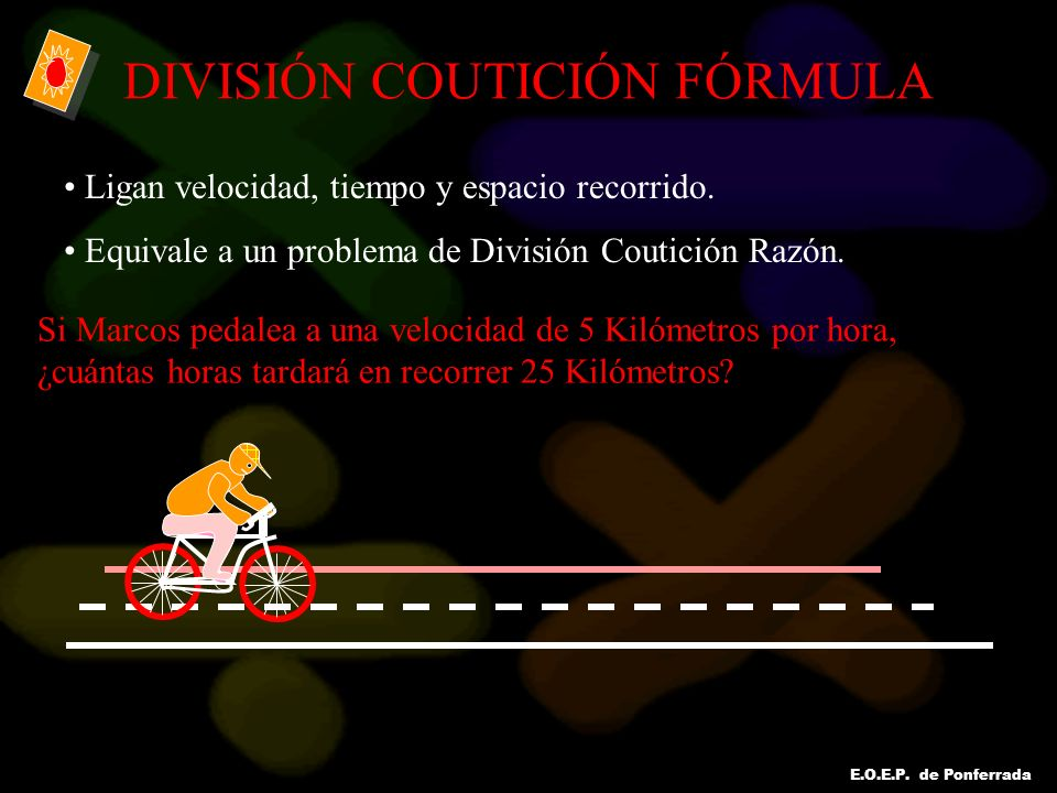 DIVISIÓN COUTICIÓN FÓRMULA