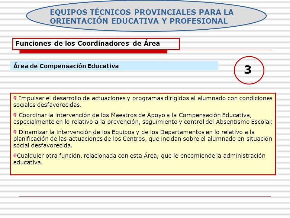 EQUIPOS TÉCNICOS PROVINCIALES PARA LA ORIENTACIÓN EDUCATIVA Y PROFESIONAL