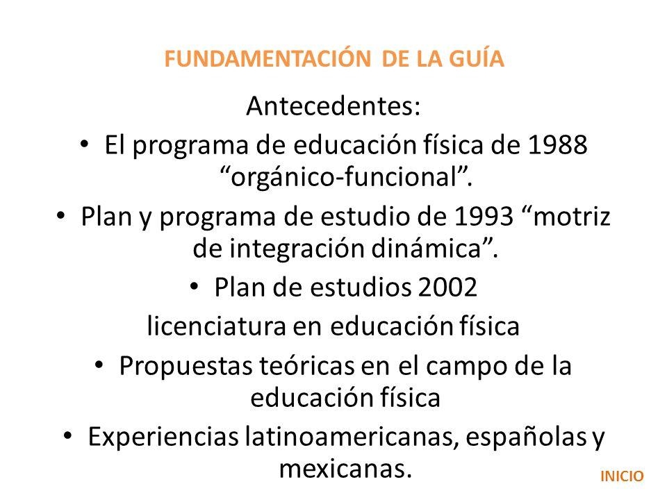 FUNDAMENTACIÓN DE LA GUÍA