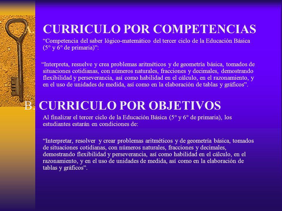 CURRICULO POR COMPETENCIAS