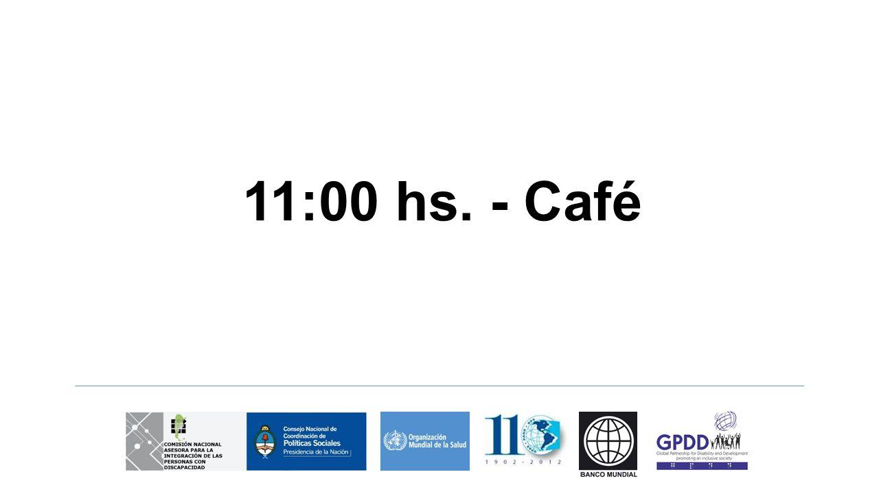 11:00 hs. - Café