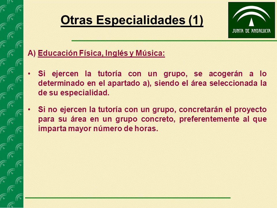 Otras Especialidades (1)