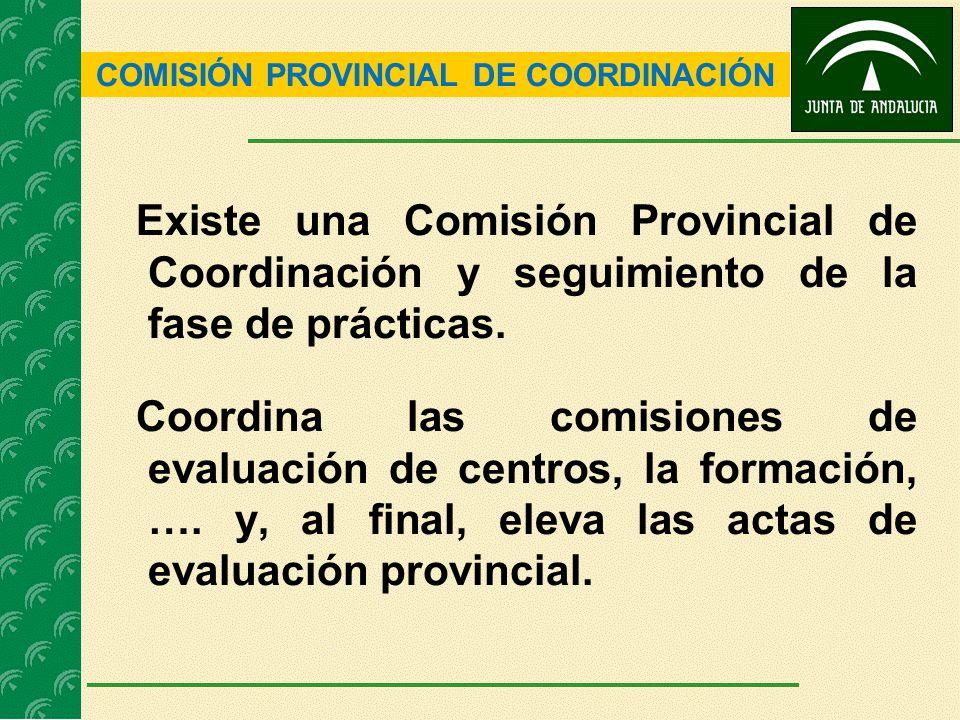 COMISIÓN PROVINCIAL DE COORDINACIÓN