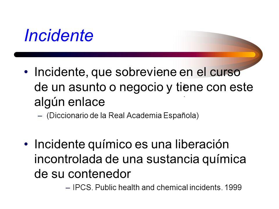 Incidente Incidente, que sobreviene en el curso de un asunto o negocio y tiene con este algún enlace.