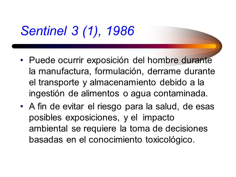 Sentinel 3 (1), 1986