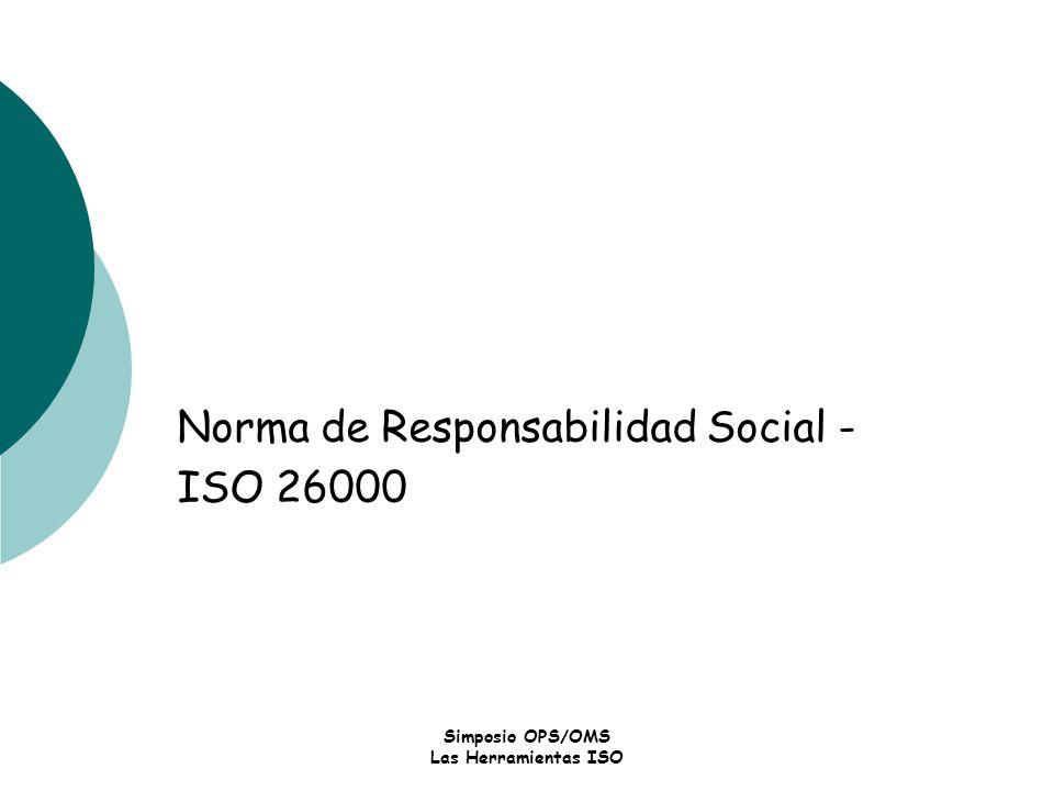 Norma de Responsabilidad Social - ISO 26000