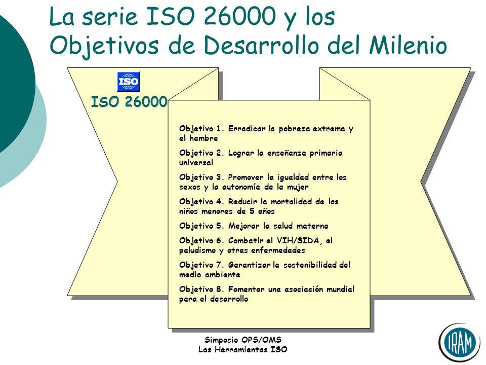 La serie ISO 26000 y los Objetivos de Desarrollo del Milenio