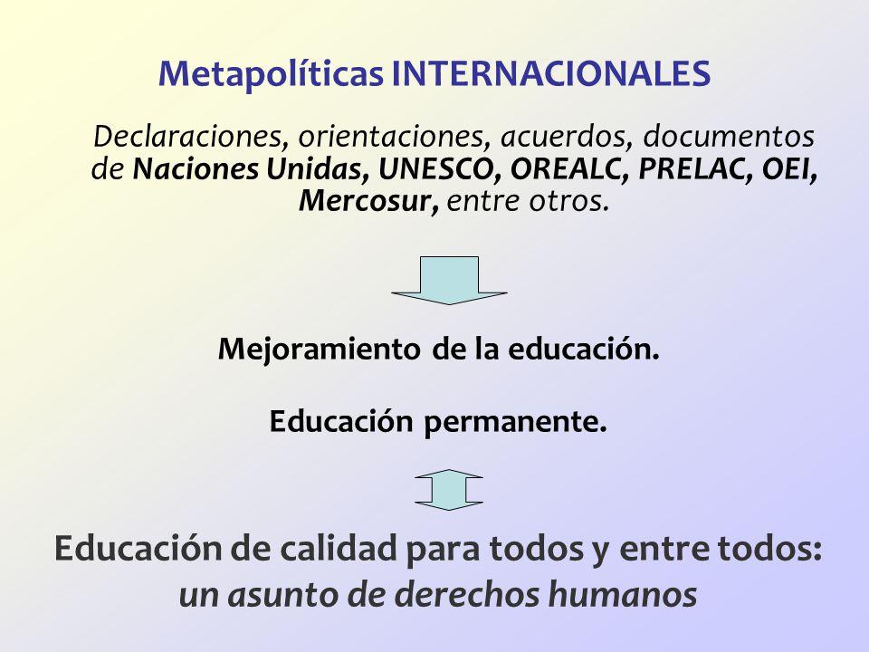 Metapolíticas INTERNACIONALES